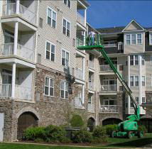 Commercial Air Duct Cleaning Businesses Apartment Building